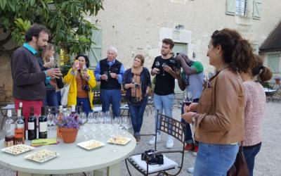 5 blogueurs britanniques en Vallée de la Dordogne