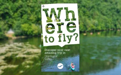 Un jeu concours pour dynamiser la communauté Facebook de Dordogne Valley